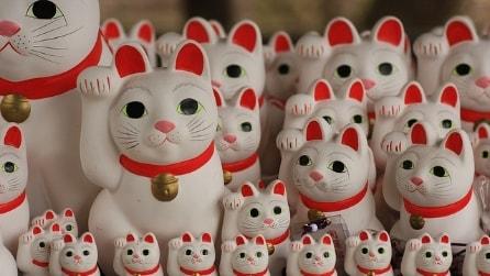 Gotokuji, il tempio giapponese dei gatti portafortuna