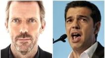 Dr House fa i complimenti a Tsipras dopo la vittoria