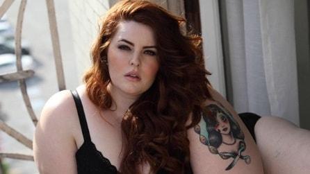 Tess, la taglia 56 che diventa una modella plus size