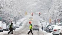 Storica tempesta di neve a Boston e New York