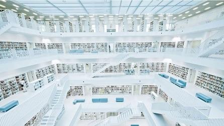 Le 15 biblioteche moderne più spettacolari del mondo