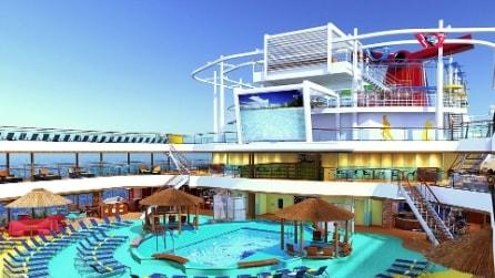 La Canival Cruise torna in Europa con una nave pazzesca