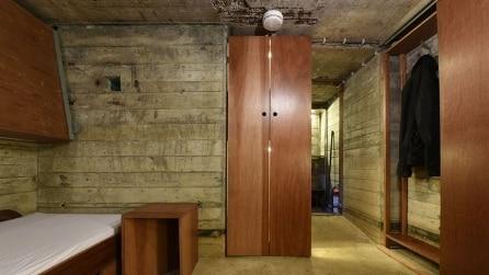 Dormire sottoterra nel bunker di Fort Vuren