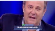 Gerry Scotti in lacrime ad Avanti un Altro per Pino Daniele