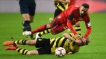 Bundesliga, Bayer Leverkusen-Borussia Dortmund 0-0