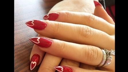 15 idee per la manicure di San Valentino