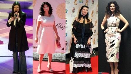 Laura Pausini: la trasformazione dagli inizi delle carriera a oggi