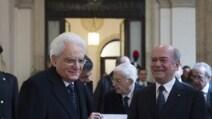 La prima uscita pubblica di Mattarella al Consiglio di Stato