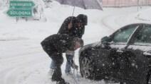 Autostrada A1 Firenze Nord- Roncobilaccio bloccata per neve