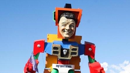 I grandi carri del Carnevale di Viareggio 2015