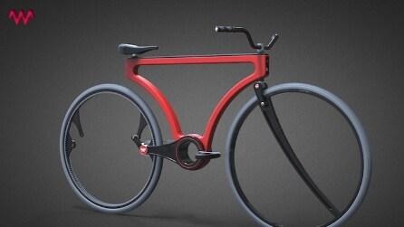 Hubless Twist Bike, la prima bici che si trasforma in un tandem