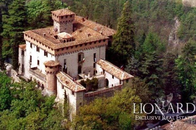 Risalente al XIV-XV secolo, questo magnifico castello ricco di storia, architettura e fascino, immerso nel verde del Piemonte, circondato da alberi secolari e affacciato su un panorama mozzafiato, vanta proprietari illustri e storici e oggi è in vendita ad una cifra compresa tra i 5 e i 10 milioni di euro.