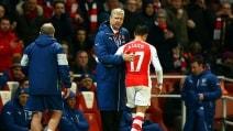 Alexis Sanchez s'infortuna contro il Leicester