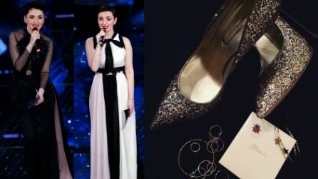 I look di Arisa per la 2a serata di Sanremo 2015