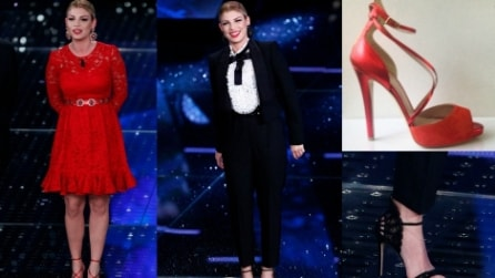 Sanremo 2015: gli abiti di Emma per la 2a serata