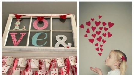 San Valentino: come decorare casa a costo zero