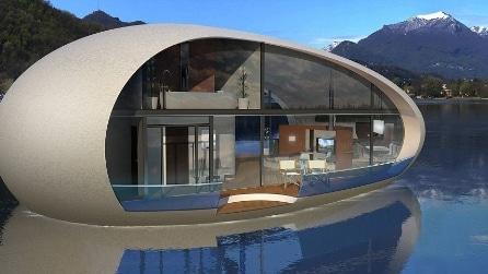 Sea Suite Series: le vacanze del futuro saranno in case galleggianti come isole private