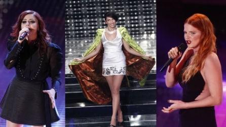 Sanremo 2015: tutti i look della 3a serata
