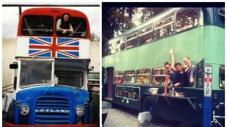 Come trasformare un bus inglese in un bar eco-chic