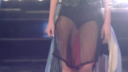 Bianca Atzei sexy al Festival di Sanremo 2015