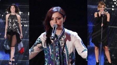 Sanremo 2015: tutti i look della 4a serata