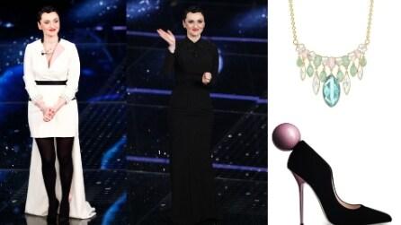 Sanremo 2015: i look di Arisa per la 4a puntata