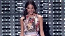 Sanremo 2015: i look di Rocío Muñoz Morales per la 4a serata