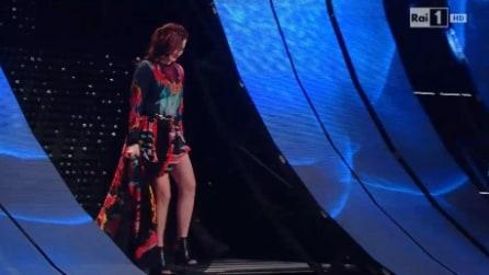 Il look di Annalisa alla finale di Sanremo 2015