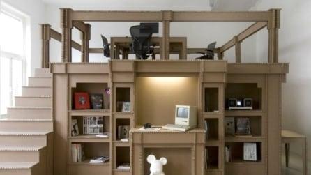 Nothing, il primo ufficio costruito interamente di cartone