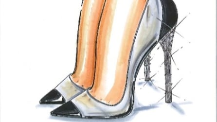 Le scarpette di cristallo di Cenerentola realizzate dagli stilisti famosi