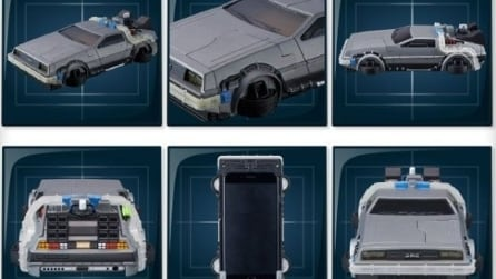 Ritorno al Futuro, il case per iPhone che trasforma lo smartphone nella famosa DeLorean