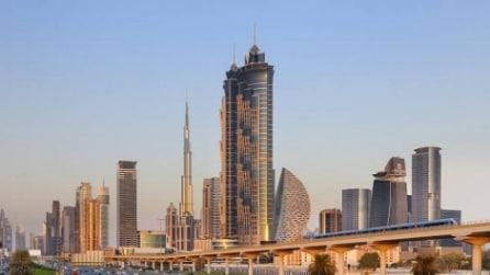 Camera vista cielo: ecco i 10 hotel più alti del mondo