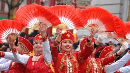 I festeggiamenti per il Capodanno cinese