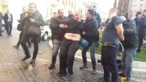 Piazza di Spagna, arrestato gruppo di tifosi del Feyenoord