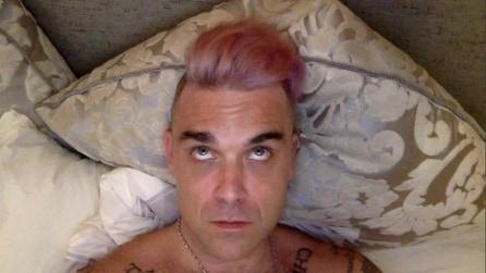 Robbie Williams: tutti i colori dei suoi capelli