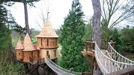 Blue Forest: la casa sull'albero più lussuosa del mondo