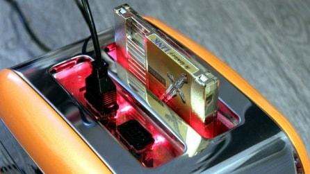 Finlandia, un artista ha inserito una console Nintendo all'interno di un tostapane