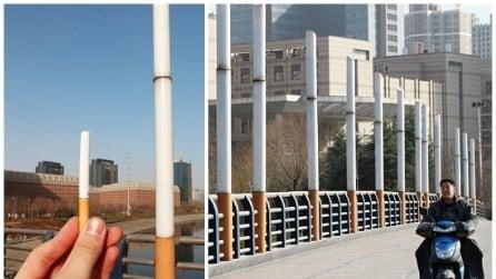 Cina, anche i ponti amano le bionde