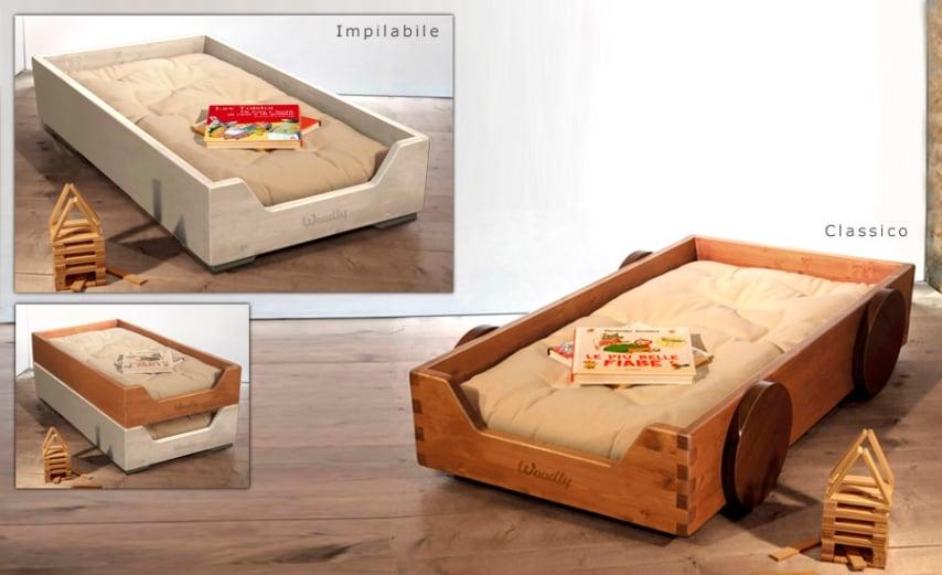"""Senza sbarre, a cui i piccoli possono accedere da soli, con questo lettino non si ha l'impressione della """"gabbia""""."""