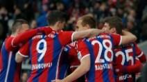 Bundesliga, Bayern Monaco-Colonia 4-1