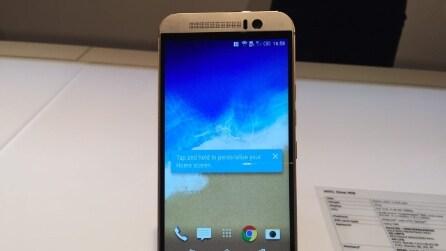 One M9, le foto del nuovo smartphone di HTC