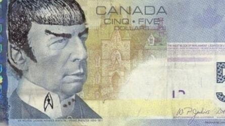 Morte Leonard Nimoy, in Canada dedicano i 5 dollari a Spock