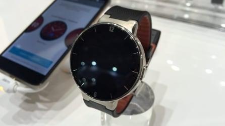 Alcatel Watch, il nuovo smartwatch si mostra al MWC 2015