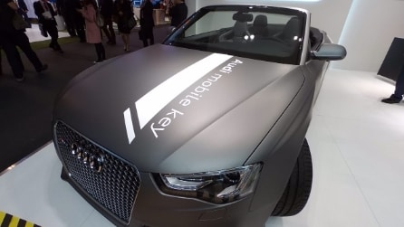 Audi Mobile Key, l'automobile che si controlla con l'LG Urbane LTE