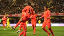 Il Barcellona batte il Villarreal e va in finale di Coppa del Re