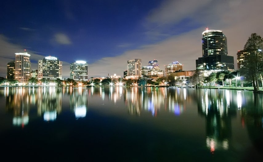 http://en.wikipedia.org/wiki/Orlando,_Florida#mediaviewer/File:OrlandoNightSkyline.jpg