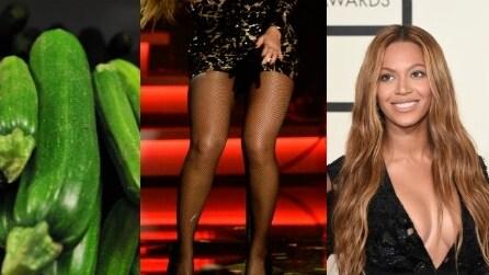 Gambe da star: oggi la forma si paragona a un vegetale