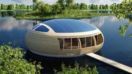 WaterNest 100: ecco la prima casa galleggiante riciclabile al 100%