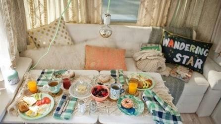 Trasforma un caravan in una casa confortevole e accogliente