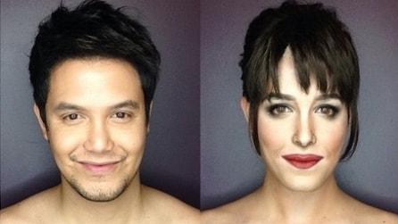 Da Dakota a Kim, con il make up si trasforma nelle star del momento
